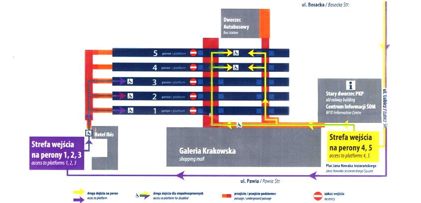Informacje dla wracających pociągiem po ŚDM