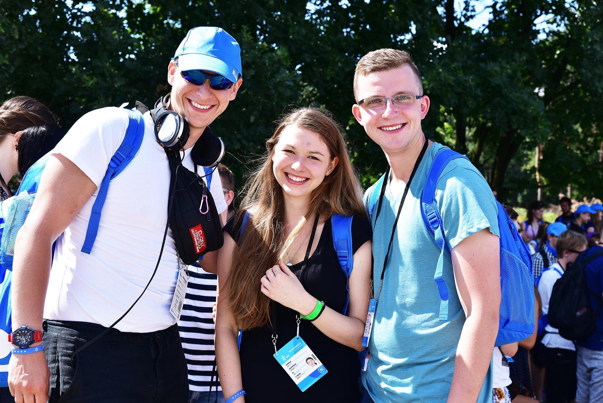 Wolontariusze ŚDM przybyli na Campus Misericordiae