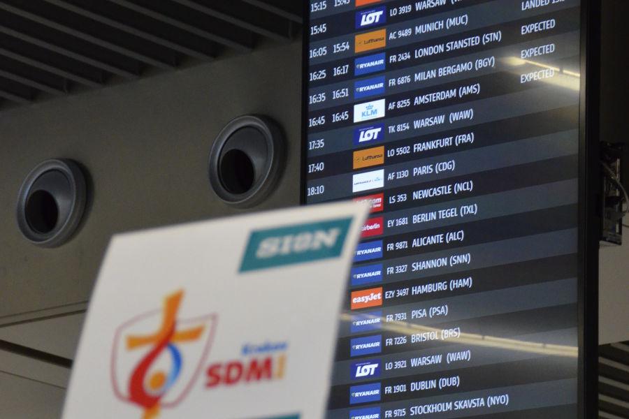 Krakow Airport – ważne informacje dla pielgrzymów