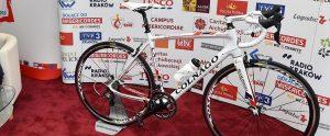 Rower Tour de Pologne dla papieża Franciszka