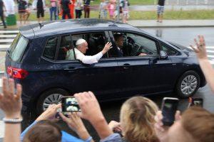 Samochody papieża Franciszka