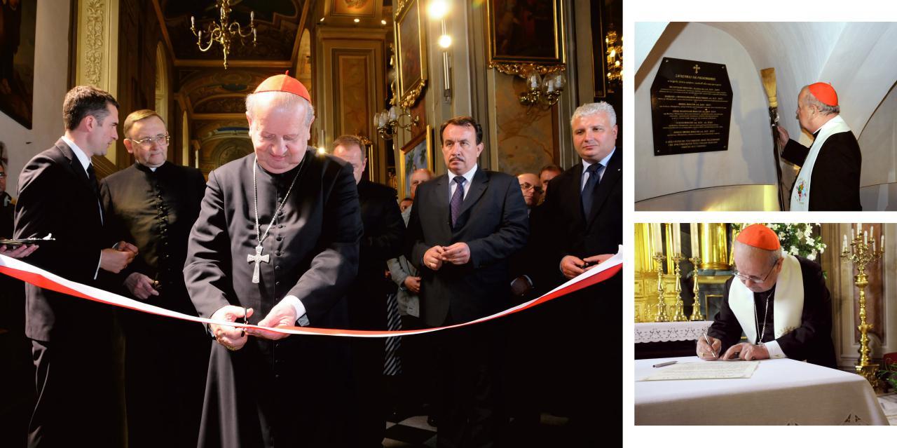 Ksiądz Kardynał Stanisław Dziwisz Honorowy Obywatel Miasta Wieliczka