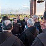 Franciszkanie na Brzegach w Dniu Kapituły Prowincjalnej z burmistrzem Arturem Koziołem