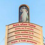 brama milosierdzia campus misericordiae wieliczka - brzegi