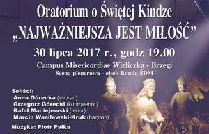 Oratorium o św. Kindze na Campus Misericordiae Wieliczka -Brzegi