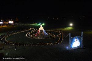 1. Rocznica Swiatowych Dni Mlodzieży 2016 na Campus Misericordiae Wieliczka-Brzegi