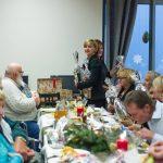 spotkanie opłatkowe w domu miłosierdzia 2017 z Artur Kozioł i Stanisław Dziwisz