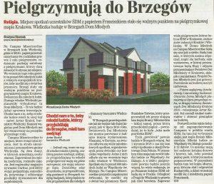 Dom Młodych powstanie na Campus Misericordiae w Brzegach