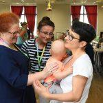 10 zjazd dzieci z zespołem Leigha z Artur Kozioł na Campus Misericordiae w Wieliczce