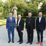 Wizyta włoskiego biskupa - ks. kard. Fernando Filoni w Wieliczce z Artur Kozioł