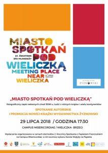 """Spotkanie autorskie i prezentacja albumu """"Miasto spotkań pod Wieliczką"""