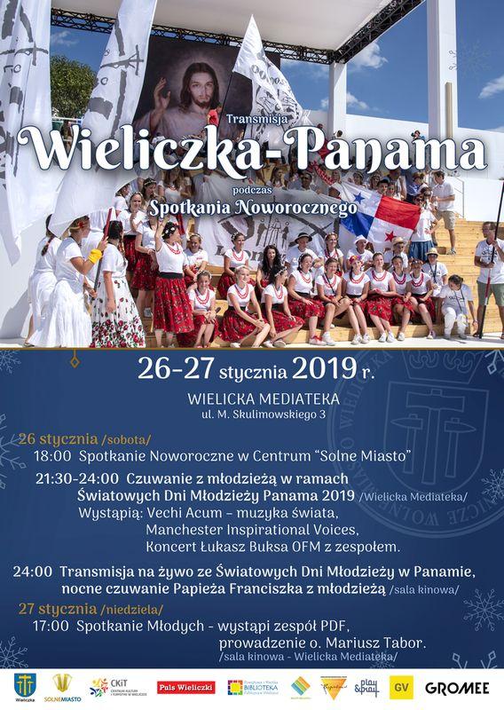 Transmisja Wieliczka-Panama 2019