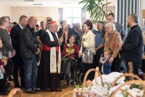 Święcenie Pokarmów na Campus Misericordiae z kard. Stanisław Dziwisz i Artur Kozio