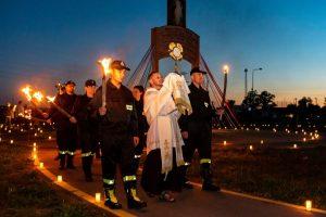 IV rocznica Swiatowych Dni Mlodziezy 2016 Campus Misericordiae Wieliczka-Brzegi