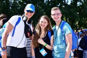 Wolontariusze ŚDM przybyli na Campus Misericordiae (1)