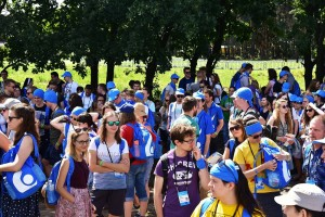 Wolontariusze ŚDM przybyli na Campus Misericordiae (26)