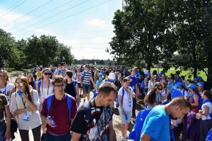 Wolontariusze ŚDM przybyli na Campus Misericordiae (3)
